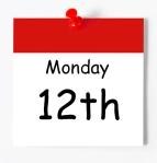 Blank Calendar Page